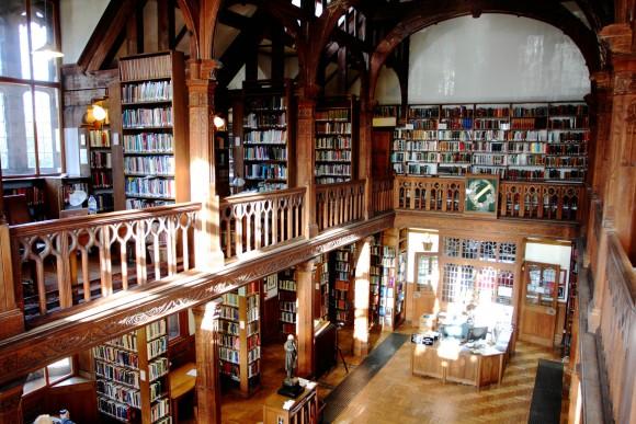 Gladstone's library interior